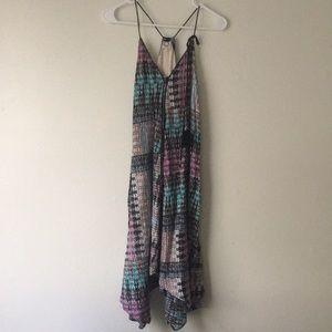 Anthropologie Riviera Tasseled Dress